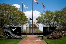 Veterans Park and Lake Winona Band Shell